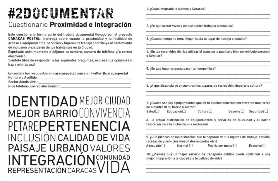 Cuestionario Proximidad e Integration